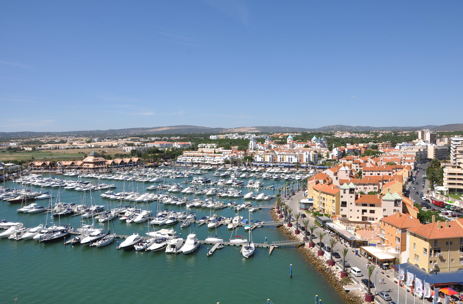 Vilamoura: 3 terraces with a view