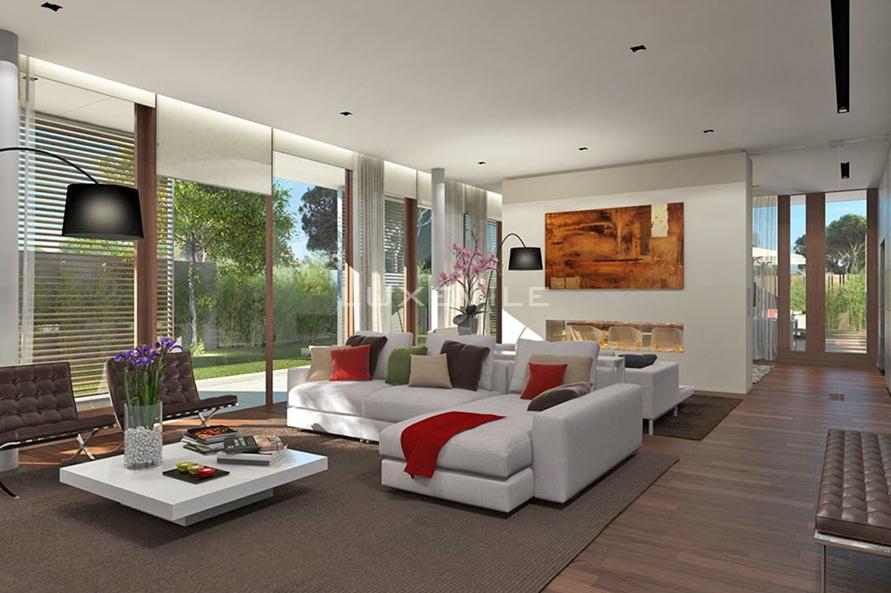 Casas de luxo 5 salas de sonho for Salas modernas de casas