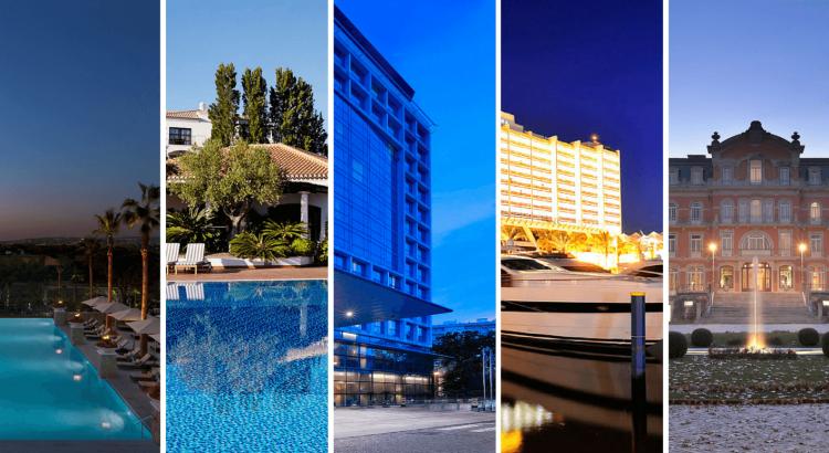Luxo e bem estar: os melhores hotéis em Portugal celebrar o seu Natal